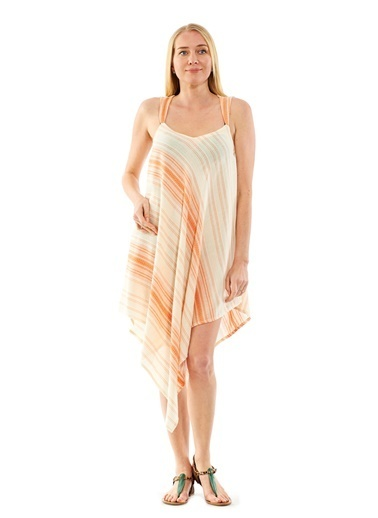 Peschtemall Plaj Elbisesi Oranj